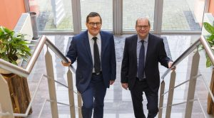 Frans Robek Financieel manager Intergarde en Joost van den Boorn CEO Intergarde