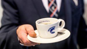 Beveiliger Intergarde biedt kop koffie aan en vraagt om open sollicitatie